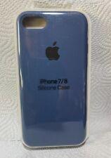 Original Apple iPhone 7 / 8 / SE (2020) Silikon Case in Kobaltblau