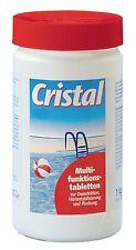 Cristal Multifunktionstabletten 1 kg Poolpflege Schwimmbeckenpflege