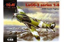 ICM 48091 1/48 LaGG-3 Series 1-4 WWII Soviet Fighter