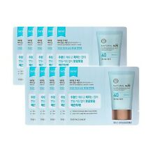 [THE FACE SHOP_SP]  Natural Sun Eco No Shine Hydrating Sun Cream samples(10pcs)