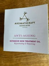3 X 3ml Aromatherapy Associates anti-ageing Hydrating Revitalizing Face Oil