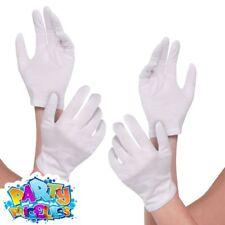 Amscan - White Cotton Gloves Fancy Dress Worldwide