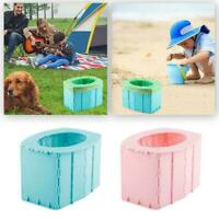 Portable Travel Folding Toilet Urinal Seats For Camping Trip Long Useful W7H2