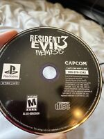 Resident Evil 3: Nemesis (PlayStation 1, 1999) PS1 DISC ONLY!!