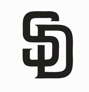 San Diego Padres MLB Baseball Vinyl Die Cut Car Decal Sticker - FREE SHIPPING