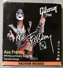 Ace Frehley Gibson Pure SEG-AFS Sig Electric Guitar Strings Nickel Kiss Rare!!!