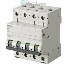Interruptor Automático Siemens 5sl6432-7 6ka curva C 4 polos 32a