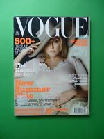 Vogue UK May 2002 Sophie Dahl Naomi Campbell Amber Valetta Anouck Lepere 5/02