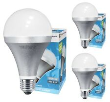 3 Pack 10W GLS LED Cool White Light Bulb E27 Edison Screw 5000K A80 830 Lumens