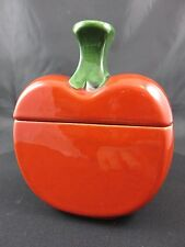 Schöne Keramik Apfel-Dose 70er Jahre Gallo