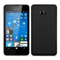 Microsoft Lumia 640 Shockproof Silicone Clear Case Thin Cover Ultra Slim Back