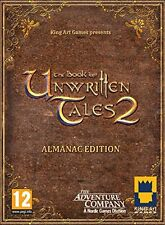 The Book of Unwritten Tales 2 - Almanac EDITION (Mac/PC DVD)  NEW&SEALED