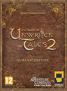 The Book of Unwritten Tales 2 Almanac EDITION & sam+max & tintin    NEW&SEALED