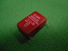 WIMA MKS 0.1uF 1000V 1960's Polyester Film Capacitor Guitar Fuzz Pedals
