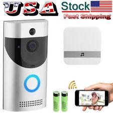 HD Wireless Smart WiFi Video Doorbell Phone Door Intercom IR Night Waterproof