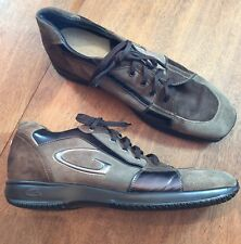 Alberto Guardiani Sport Casual Sneaker Shoes Brown ITALY 44 US 10.5 - 11