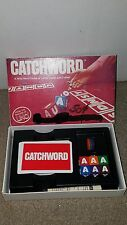 Vintage Catchword Wild Word Game of Letter Cards & Cubes IGI 1982 Complete