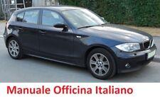 BMW  SERIE 1 E87  (2004/2013) Manuale Officina Riparazione ITALIANO