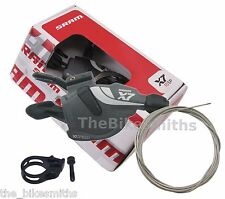 SRAM X7 10 speed MTB Trigger Shifter Right Rear Bike Zero Loss fit X9 XX 1:1