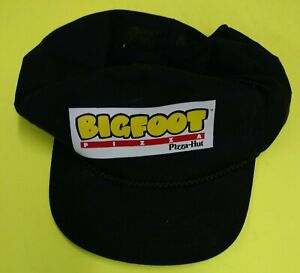 """PIZZA HUT BIG FOOT PIZZA HAT/ CAP, 1993, """"ONE SIZE FITS ALL"""" , VINTAGE, SCARCE"""