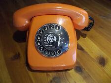 Wählscheibentelefon,Telefon Post FeTAP 611-2a,10.77 BP,bt orange 70er