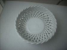 paniere in ceramica bianca forma rotonda intrecciata mulino bianco rotondo leggi