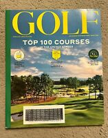 Golf Magazine November December 2020 Top 100 Courses MASTERS PREVIEW