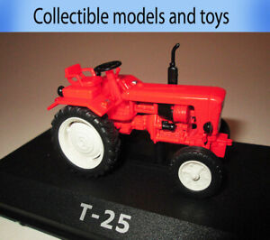 model Tractor T-25, USSR 1966, Hachette 1: 43, tractor series