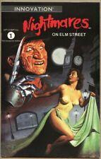 Nightmares On Elm Street #1-1991 vf Freddy Krueger Innovation Harris Nightmare