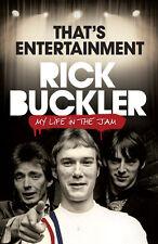 Rick BUCKLER: Qui est Entertainment-Ma vie dans la confiture de livres sur la musique/Théorie