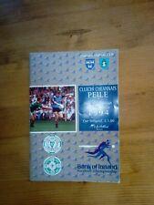 GAA 1994 Leinster SFC final Dublin v Meath official match programme