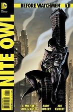 BEFORE WATCHMEN : NITE OWL - COMPLETE SET FIRST 1st PRINT ISSUES 1 2 3 4