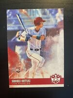 Shohei Ohtani 2018 Panini Diamond Kings Batting RC #76 Los Angeles Angels