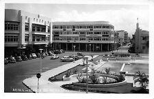 Africa real photo postcard Mozambique, Beira Praca do Municipio ca 1956