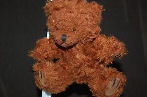 "Brown Teddy Bear BABW Build A Bear Accessory Plush 5"" Toy Lovey"