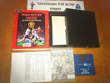 PC MANCHESTER UNITED OFFICIAL GAME ESPAÑOLA AMSTARD MSX SPECTRUM AMIGA ATARI IBM