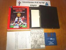 PC Manchester United Official Game Española amstard msx SPECTRUM IBM Atari Amiga