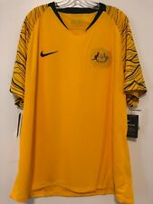Nike 2018 Australia Gold Cup Home Stadium Soccer Jersey Size 2XL 893852-739