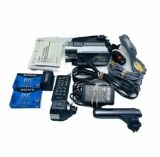 Sony Hdr-Hc7 Hdv MiniDv Camcorder With Night Vision and Lots of Accessories