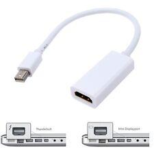 ADAPTADOR HDMI (HEMBRA) A THUNDERBOLT (MACHO) PARA APPLE MACBOOK IMAC - BLANCO