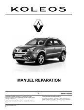 manuel atelier entretien réparation technique maintenance Renault Koleos - Fr