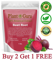 Red Beet Root Powder 1 lb. Beta Vulgaris Non-GMO Nitric Oxide Extract Super Food