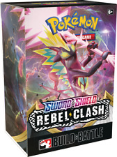 Pokémon Tcg - Rebel Clash - Build & Battle Box (Factory Sealed) Restock 8/4