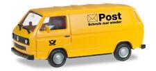 "Herpa 091527 Volkswagen T3 box ""German mail delivery"" 1:87 modellismo"