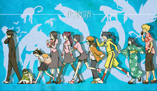 TT021 Monogatari Custom Playmats Yugioh MTG Pokemon Vanguard Anime Gaming Mats