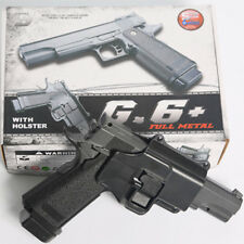 M1911 METAL SPRING AIRSOFT GUN w/ HOLSTER 6mm BB Galaxy G.6