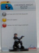 Brave and the Bold Heroclix 014 Checkmate Knight Black