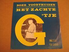 45T SINGLE TELSTAR 1620 / BOER VOORTHUIZEN - HET ZACHTE G-TJE