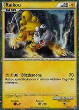 Raikou HGSS 19 HGSS BLACK STAR cartes pokemon holo FR LP