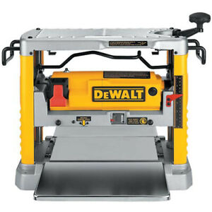 DeWalt DW734 12-1/2 in. Thickness Planer with Three Knife Cutter-Head New